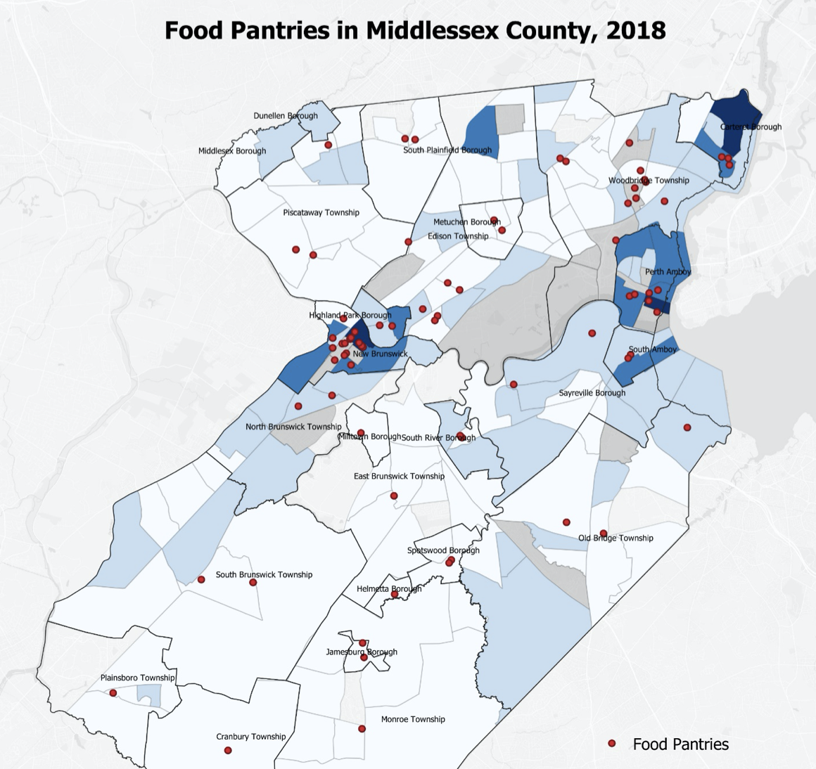 Voorhees Fellows Rutgers Bloustein food insecurity research