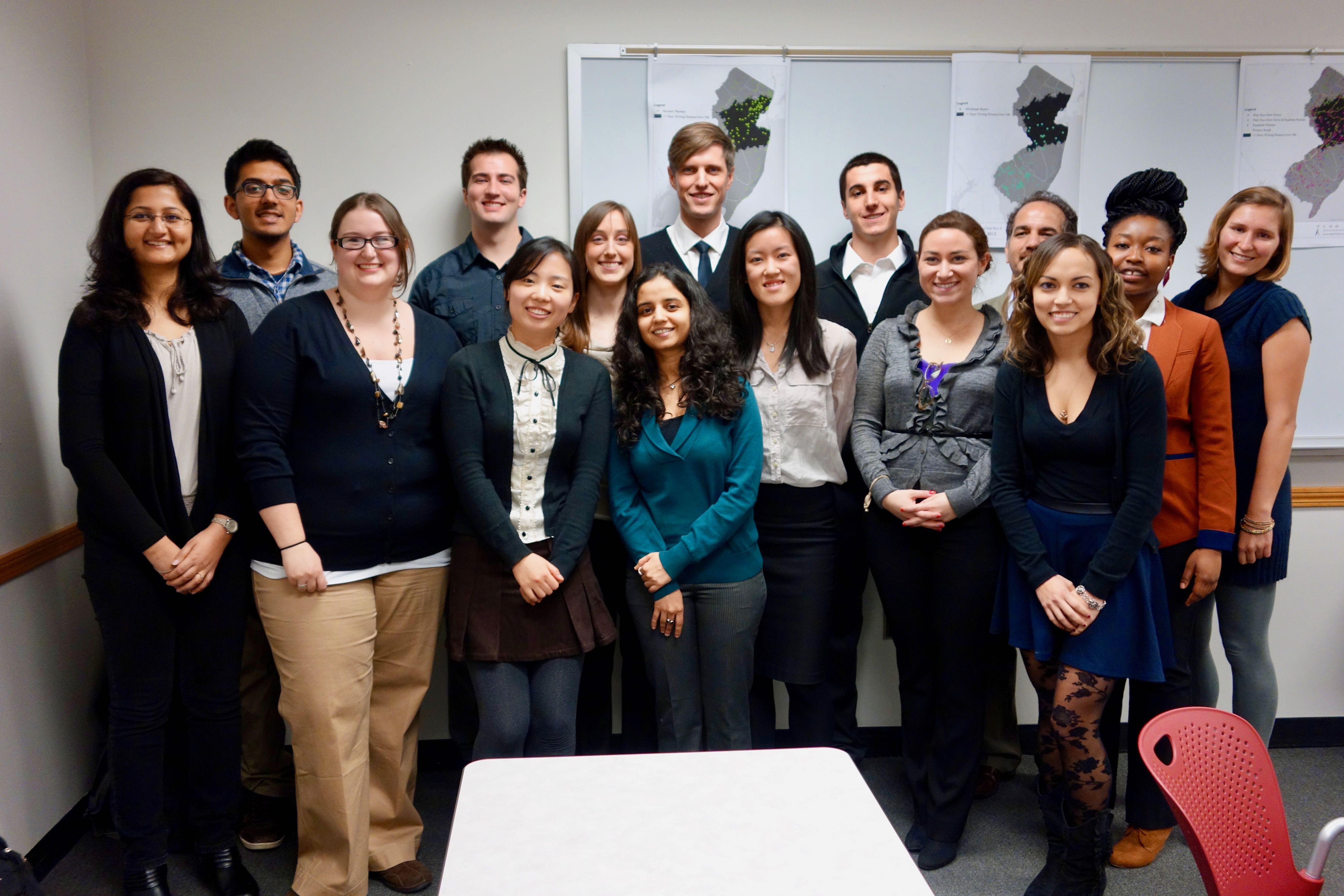 Voorhees Fellows Rutgers University