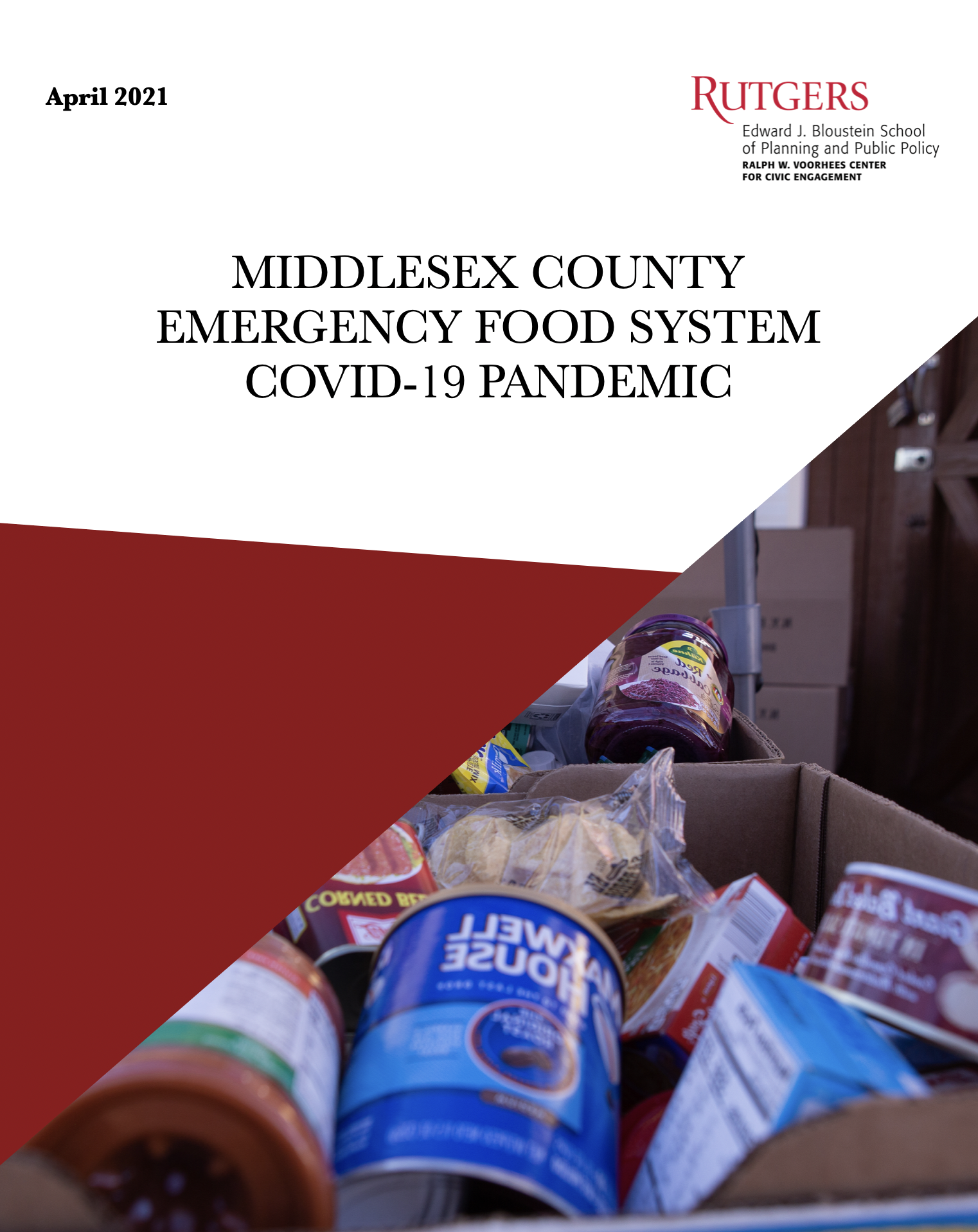 food pantry covid pandemic Rutgers university